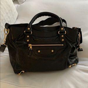 Classic Balenciaga Leather Bag